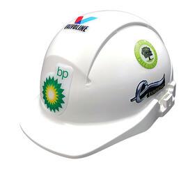 Domed Helmet Stickers